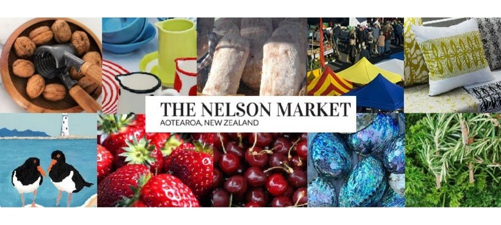 The Nelson Market In Nelson, NZ Is An Iconic Market For Gourmet And Artisinale Food And Products. Est. In 1978, Open Saturdays 8am-1pm