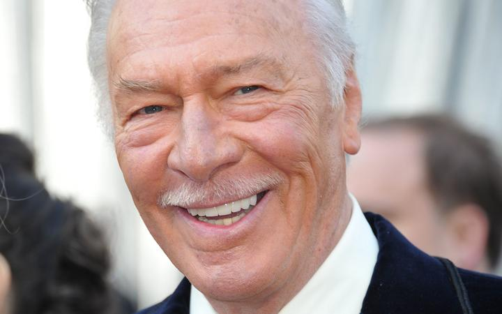 (FILES) In this file photo taken on February 26, 2012 Christopher Plummer arrives on the red carpet for the 84th Annual Academy Awards in Hollywood, California. -